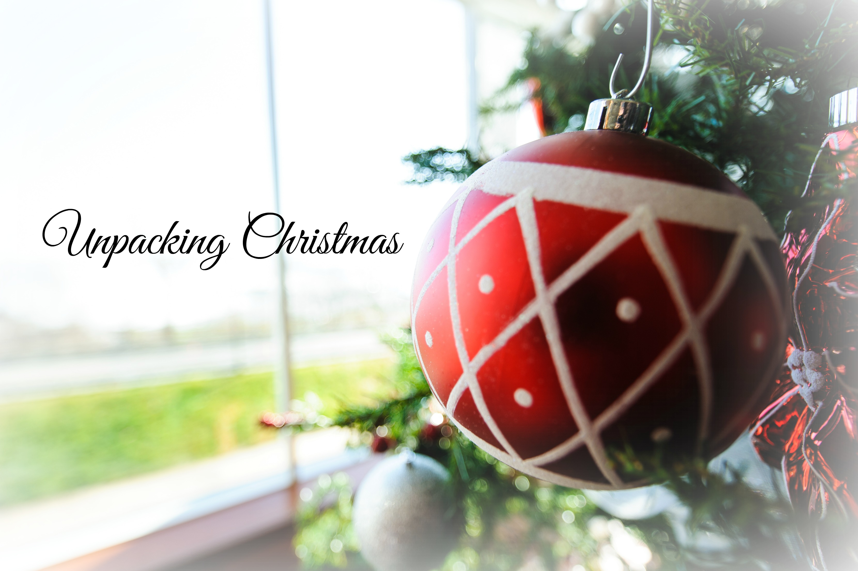 Unpacking Christmas 1