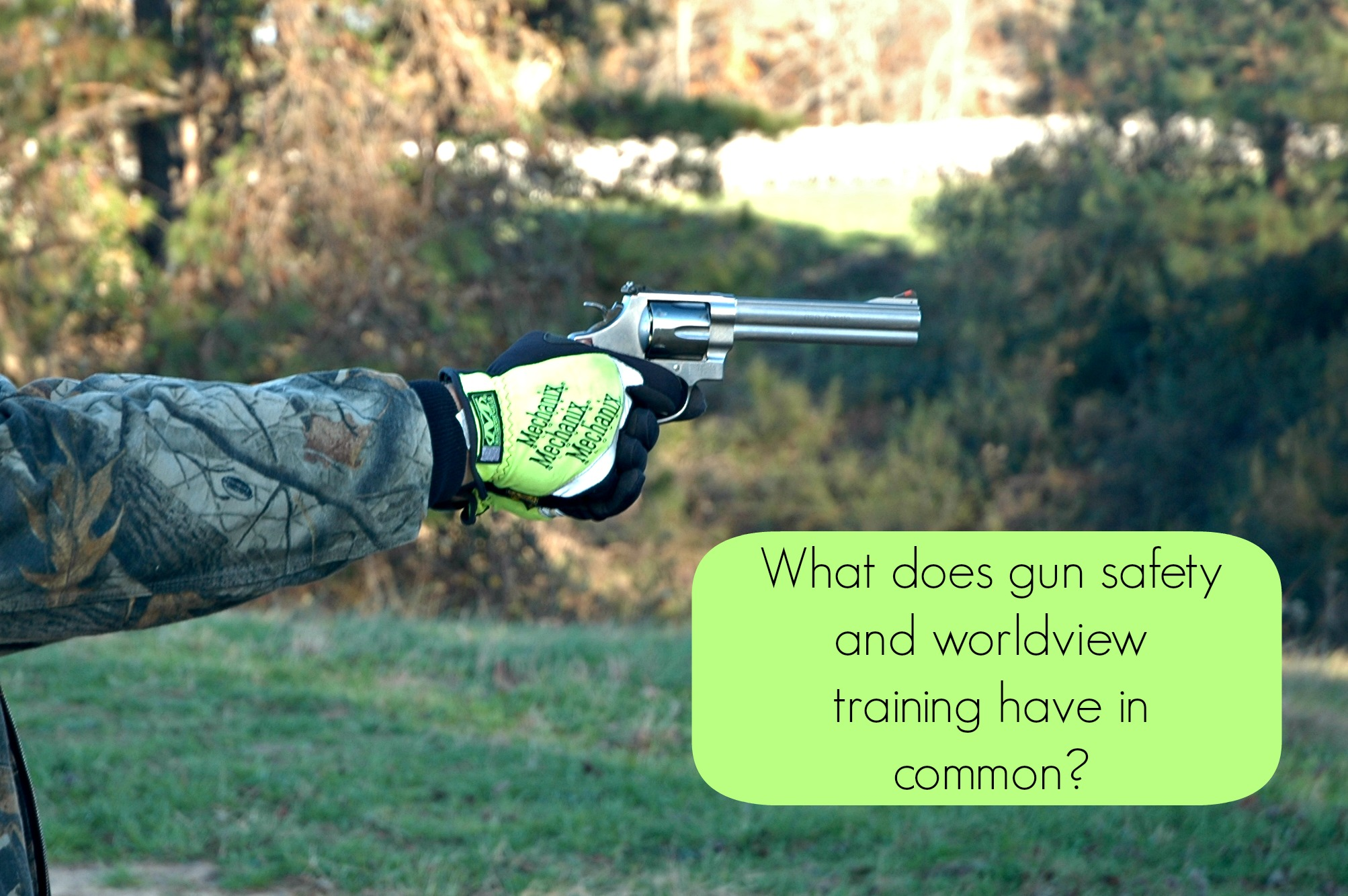 gun safety and worldview training