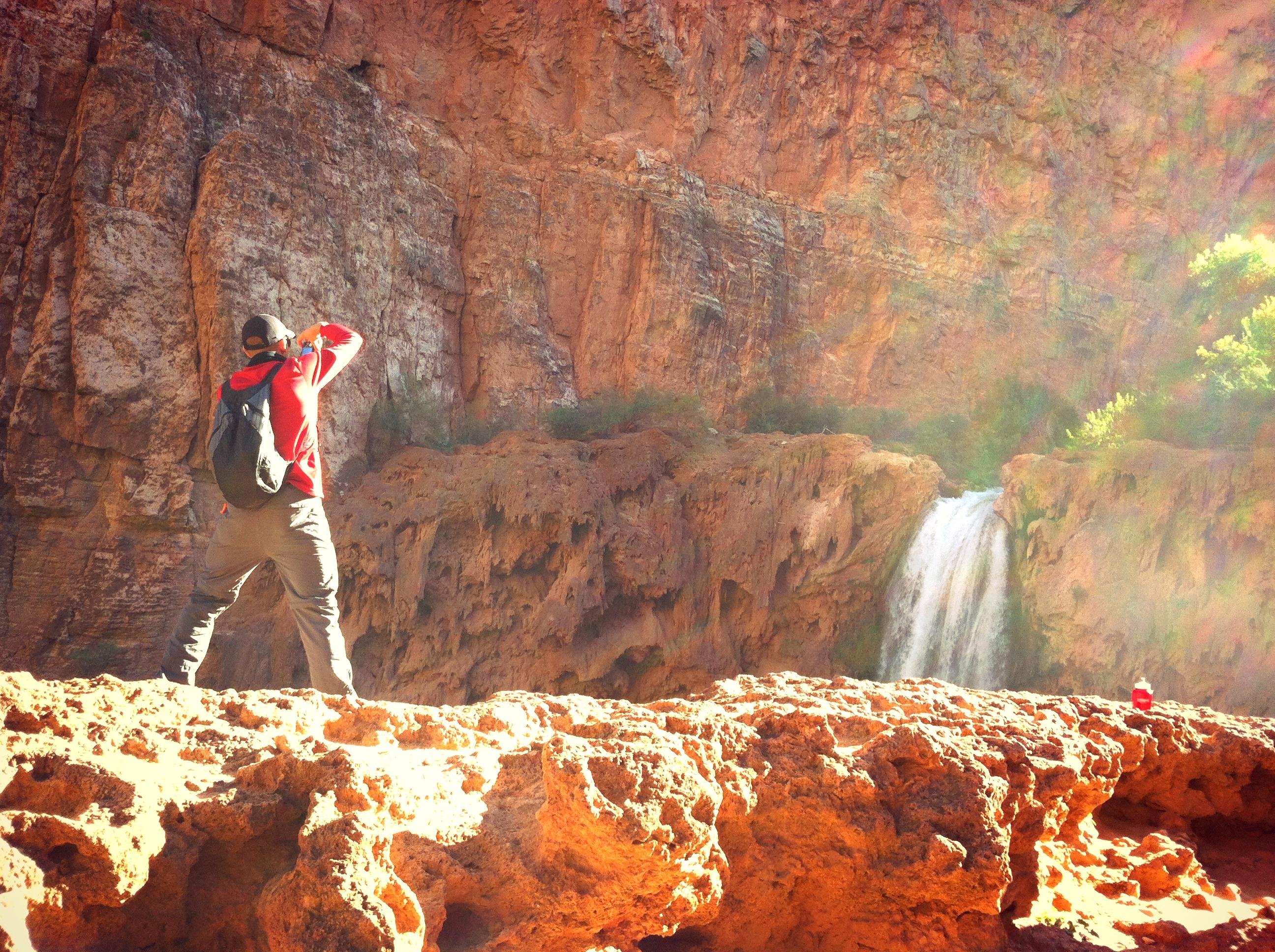 Moony Falls, AZ