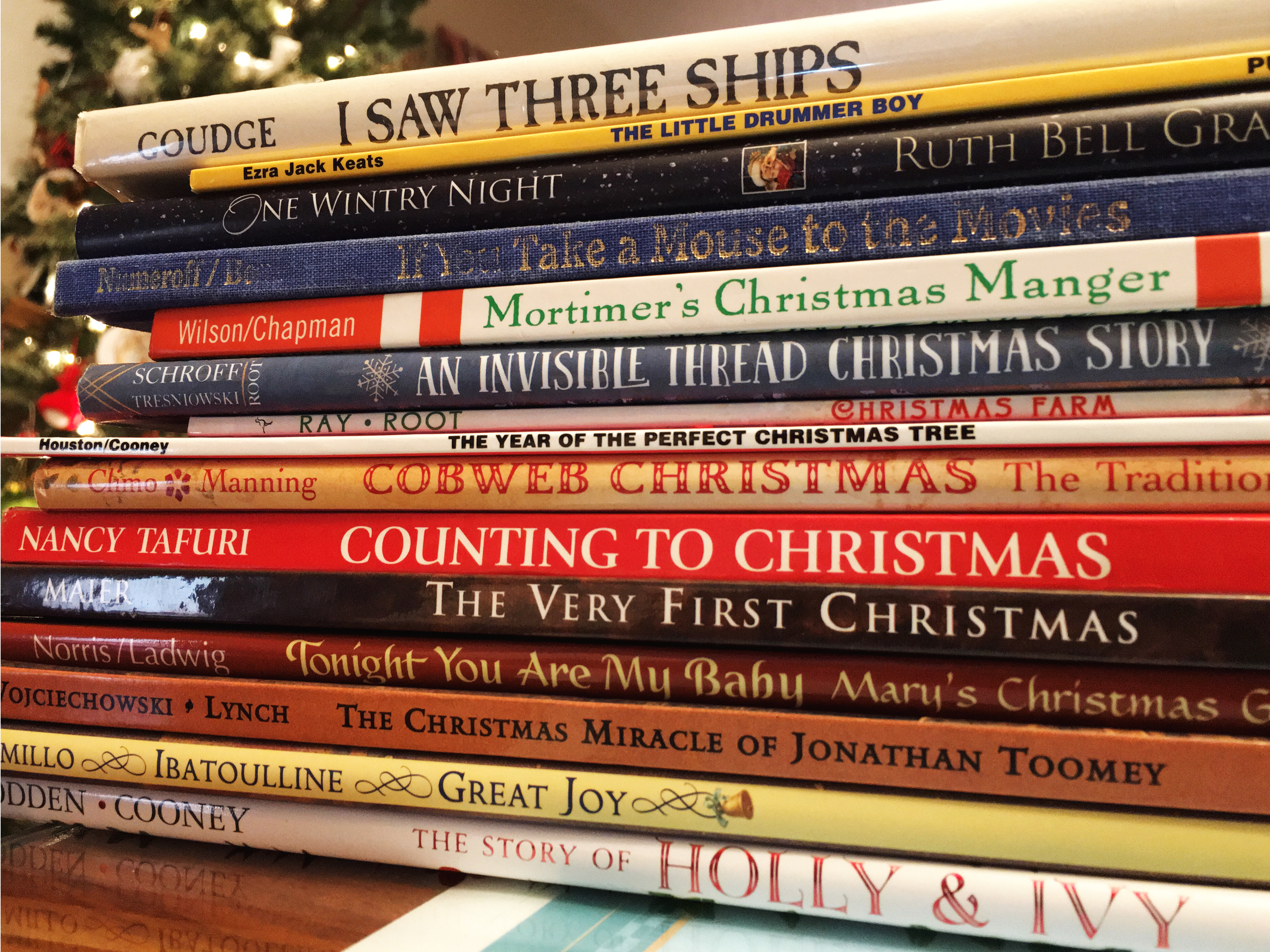 Bringing Christmas Home 15 Of Our Favorite Christmas Picture Books